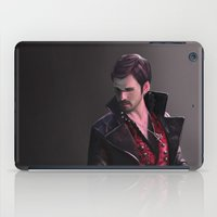 hook iPad Cases featuring Hook by Mel Hampson