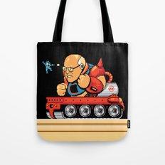 Megaman vs Dick Cheney Tote Bag