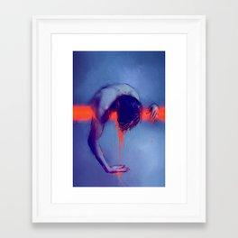 Overwhelmed Framed Art Print