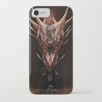 smaug iPhone & iPod Cases featuring Smaug And The Thief by Andy Fairhurst Art