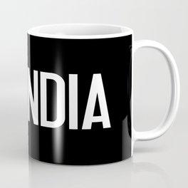 India: Indian Flag Coffee Mug