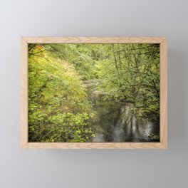 North Fork Silver Creek Framed Mini Art Print