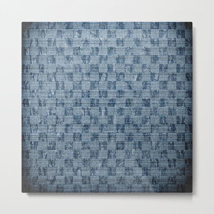 Checker Metal Print