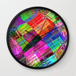 """"""" We do not compare a mosquito with an elephant """" Wall Clock"""