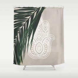 HAMSA #3 Shower Curtain