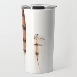 Feathers | Barn Owl | Watercolor Travel Mug