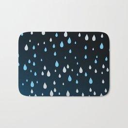 Rain Rain Rain Bath Mat