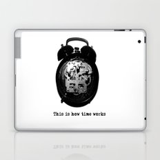 How time works Laptop & iPad Skin