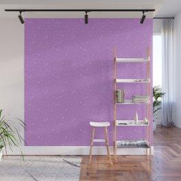 Lavender Night Sky Wall Mural