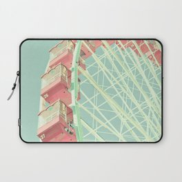 Pink nursery ferris wheel, Navy Pier Laptop Sleeve