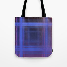 Space Plaid ii Tote Bag