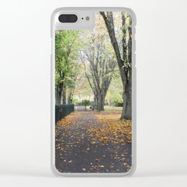 Herbert Park - Dublin Clear iPhone Case