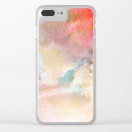 Magic Sky - Geo Candy Clear iPhone Case