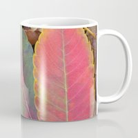 camus Mugs featuring Hello Sweet Autumn by Graphic Tabby
