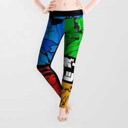 142 Cowboy RGB Leggings