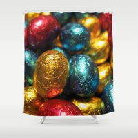 easter Shower Curtains featuring Easter by habish