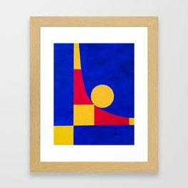 Unit(e):  Squaring the Circle Framed Art Print