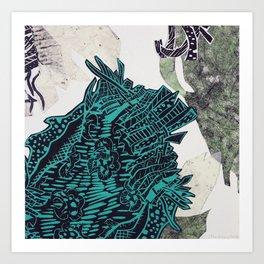 Potential Paisley Art Print