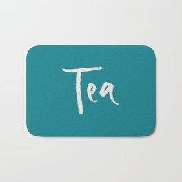 Teal Tea Bath Mat