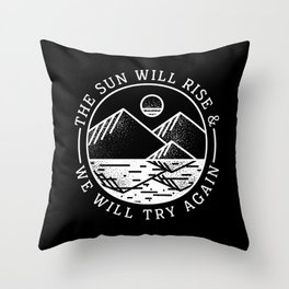 truce II Throw Pillow