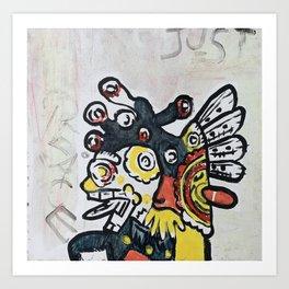 Just Peace Art Print