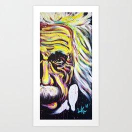 Albert Einstein   E=MC 2 Art Print
