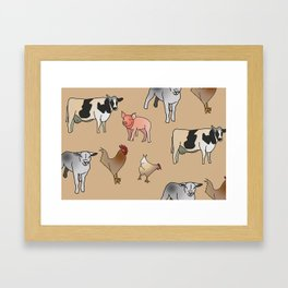 Farmyard FUN! Framed Art Print
