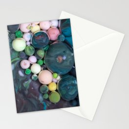 Bubbles Art Mateo Stationery Cards