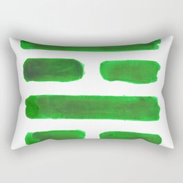 The Family - I Ching - Hexagram 37 Rectangular Pillow
