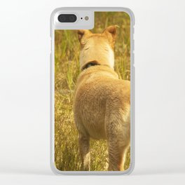 What does Maisie see? Clear iPhone Case