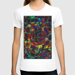 Urban Psychedelic Abstract T-shirt