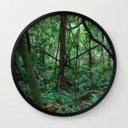 Tropical Stream Wall Clock