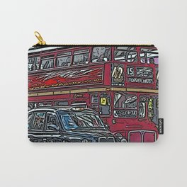 London bus and cab Carry-All Pouch