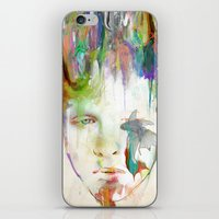 archan nair iPhone & iPod Skins featuring Organic by Archan Nair