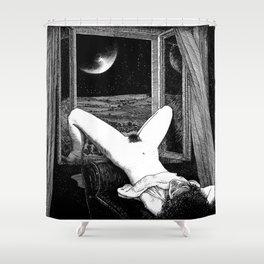 asc 558 - Le clair de femmes (Moonstruck) Shower Curtain