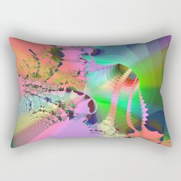into the deep Rectangular Pillow