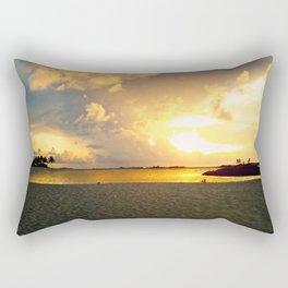 Bahamian Sunset  Rectangular Pillow
