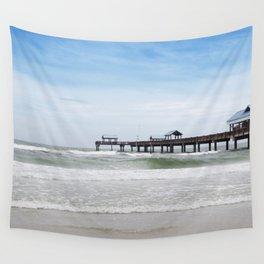 clearwater beach, fl Wall Tapestry