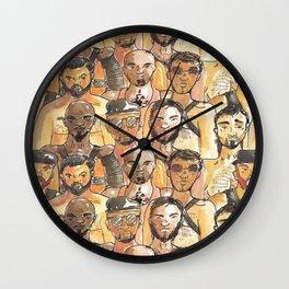 gay bears squad Wall Clock