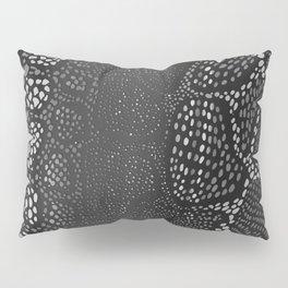 Black Snake Skin Pillow Sham