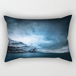 The Arctic - Storm Over Still Water Rectangular Pillow