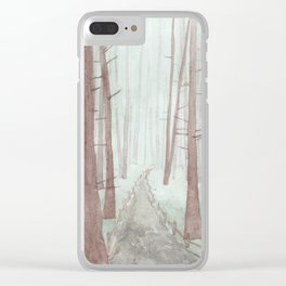 Sonoma: Armstrong Woods Clear iPhone Case
