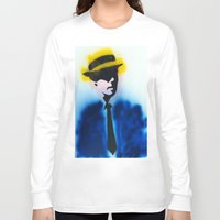 suits Long Sleeve T-shirts featuring SUITS by Clay Bakkum