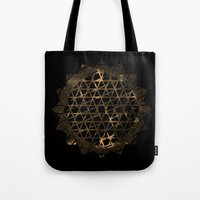 infinite Tote Bags featuring Infinite by Zach Terrell