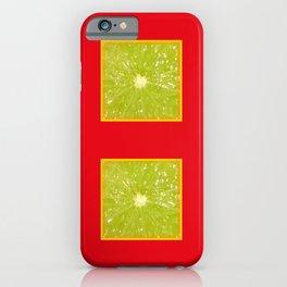Lime Eyes – Strange Fruits iPhone Case