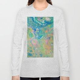 Paint Ball Rainbow Long Sleeve T-shirt