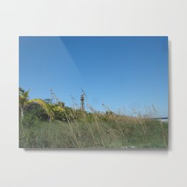 """""""Lighthouse On Sanibel Island"""" Metal Print"""