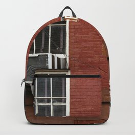 Greenwich Street in New York Backpack