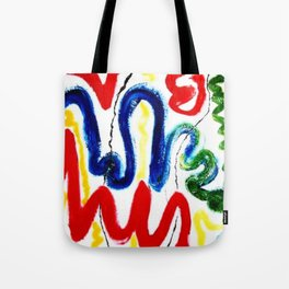 EXCITEMENT !     By Kay Lipton Tote Bag