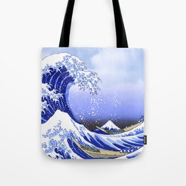 Surf's Up! The Great Wave Tote Bag
